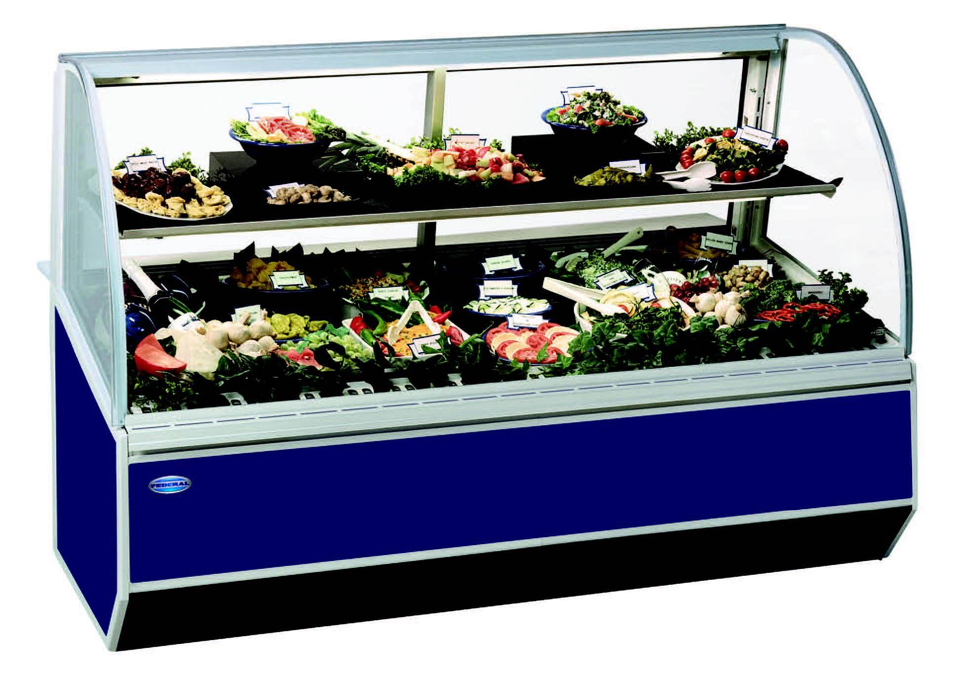 SN-4CD SERIES 90 REFRIGERATED DELI CASE