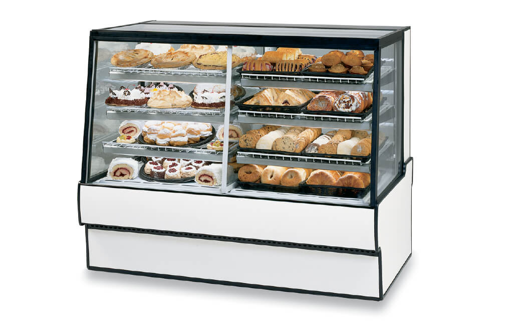 HIGH VOLUME DUAL ZONE BAKERY CASE