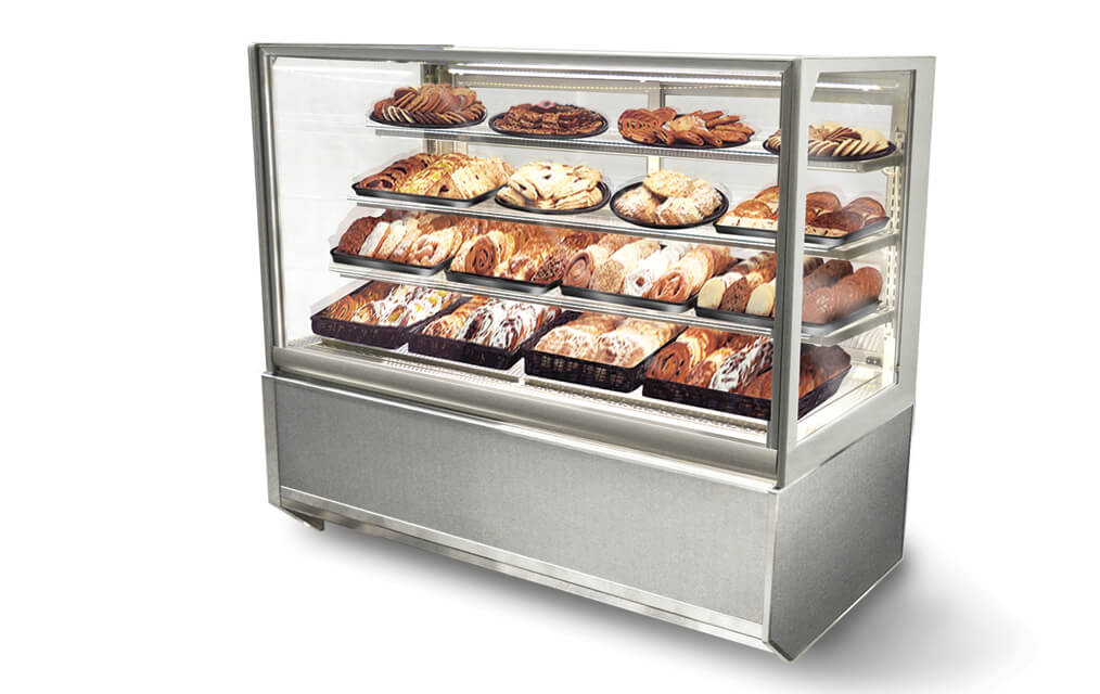 ITD4834-B818 ITALIAN GLASS NON-REFRIGERATED BAKERY MERCHANDISER