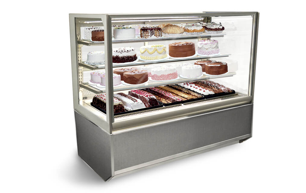 ITR4834-B18 ITALIAN GLASS REFRIGERATED BAKERY AND DELI MERCHANDISER