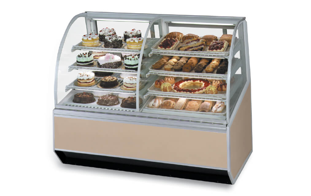 SERIES '90 DUAL REFRIGERATEDNON-REFRIGERATED BAKERY CASE