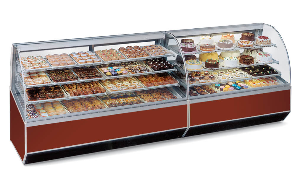 SERIES '90 REFRIGERATED BAKERY CASE - BLUE LAMINATE