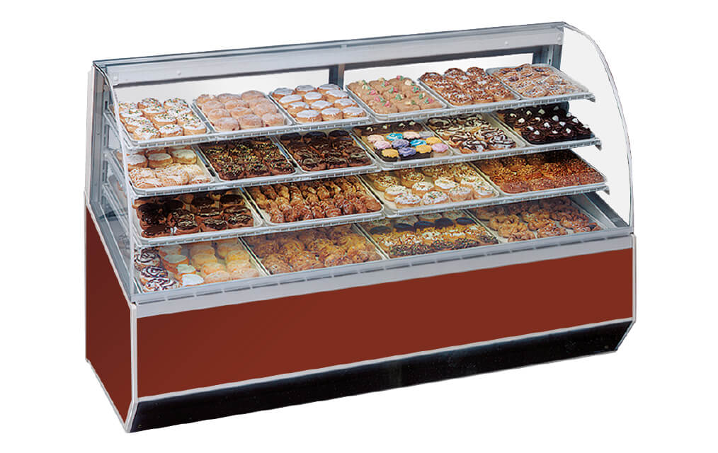 SERIES3990NON-REFRIERATEDBAKERYCASSE-RED