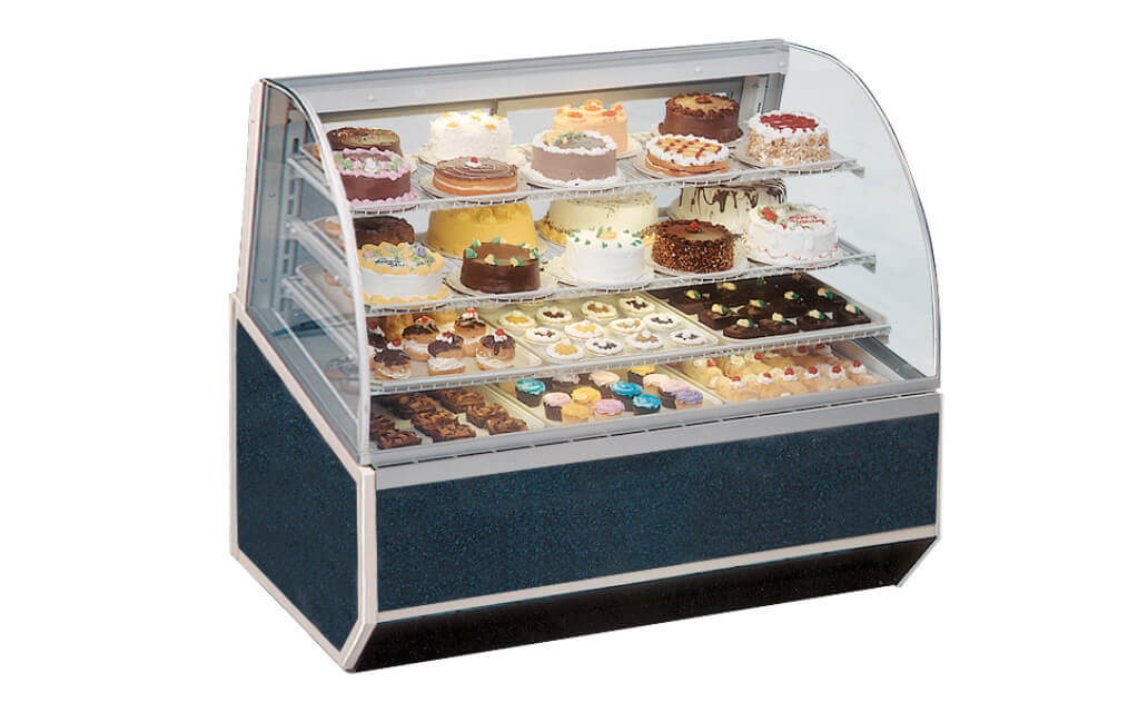 SERIES3990REFRIGERATEDBAKERYCASE-BLUELAMINATE