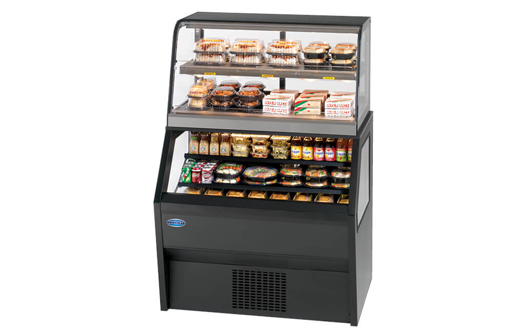 HYBRIDMERCHANDISERSERVICESELF-SERVICEHOTOVERSELF-SERVICEREFRIGERATED
