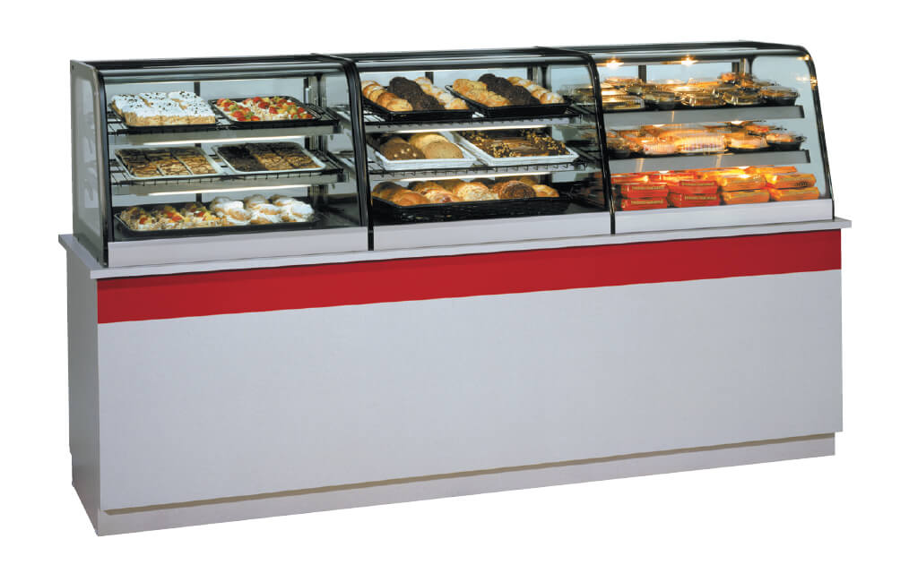 COUNTER TOP SIGNATURE SERIEIS NON-REFRIGERATED SELF-SERVE CASE LINE UP