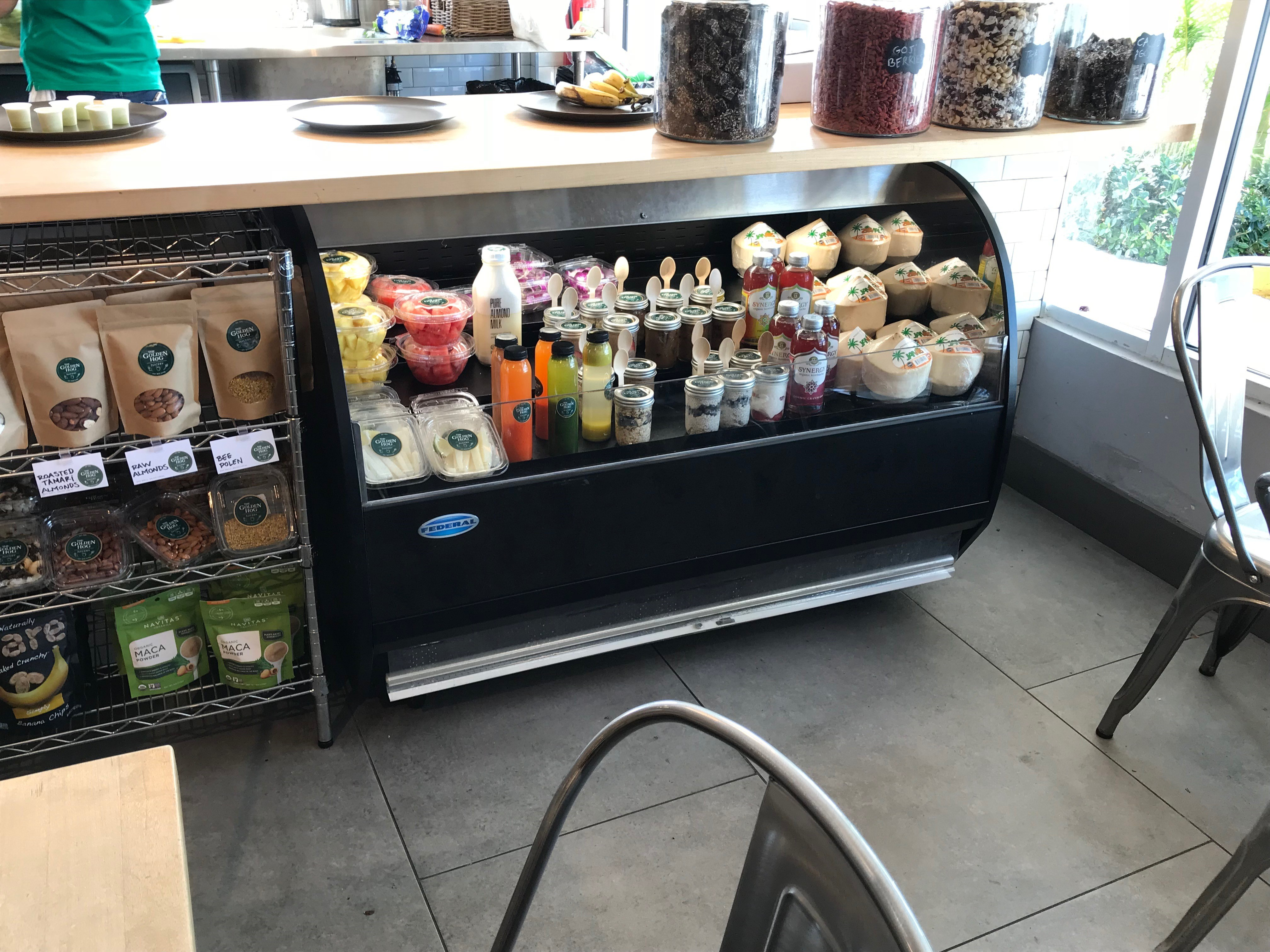 SELF-SERVE VERSATILE TOP OVER REFRIGERATED SELF SERVE