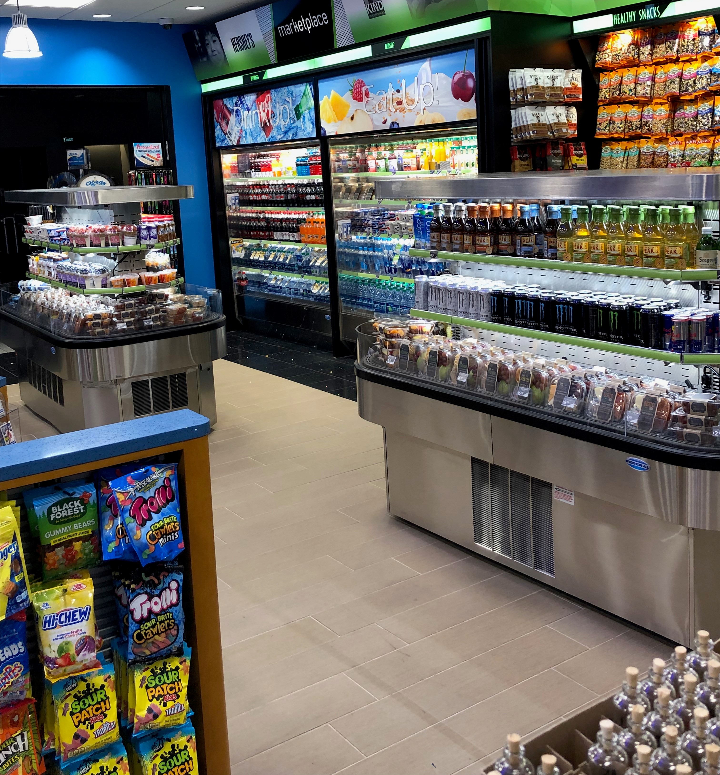 Specialty Display Island Merchandiser