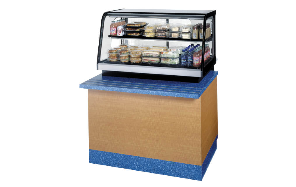 COUNTERTOPSIGNATURESERIESREFRIGERATEDSELF-SERVEMERCHANIDISER-ONCOUNTER