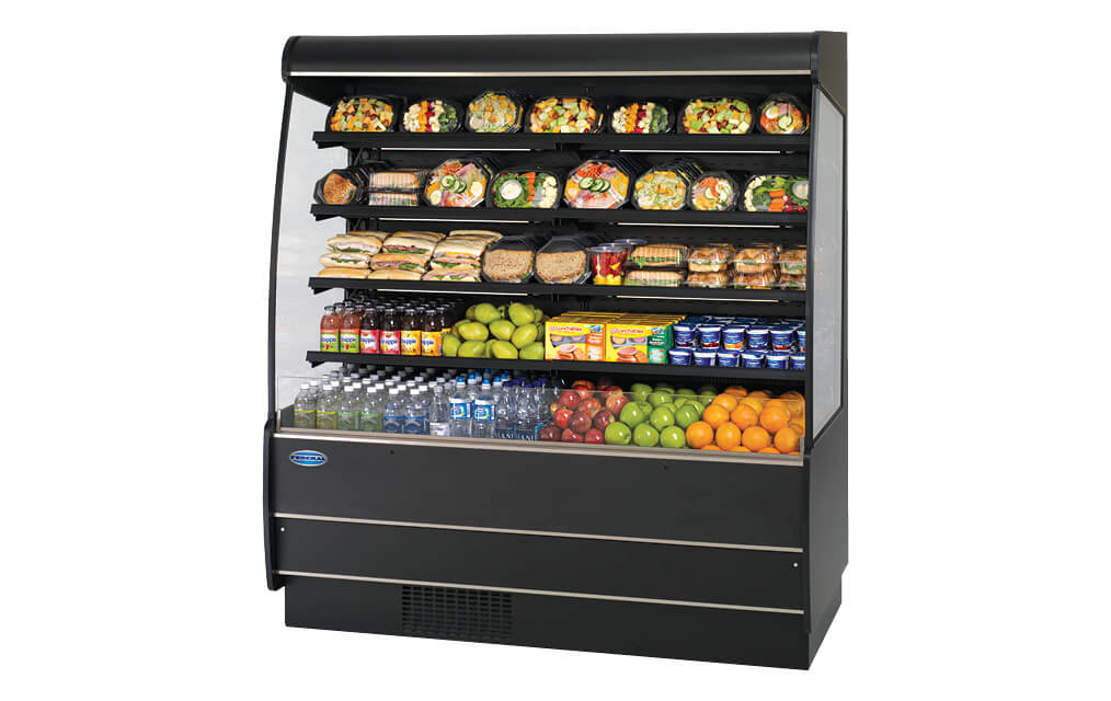 REFRIGERATED SELF-SERVE HIGH PROFILE SPECIALTY MERCHANDISER RSSM-678-SC