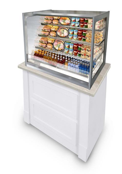 Refrigerated Self-Serve Merchandiser - Drop In