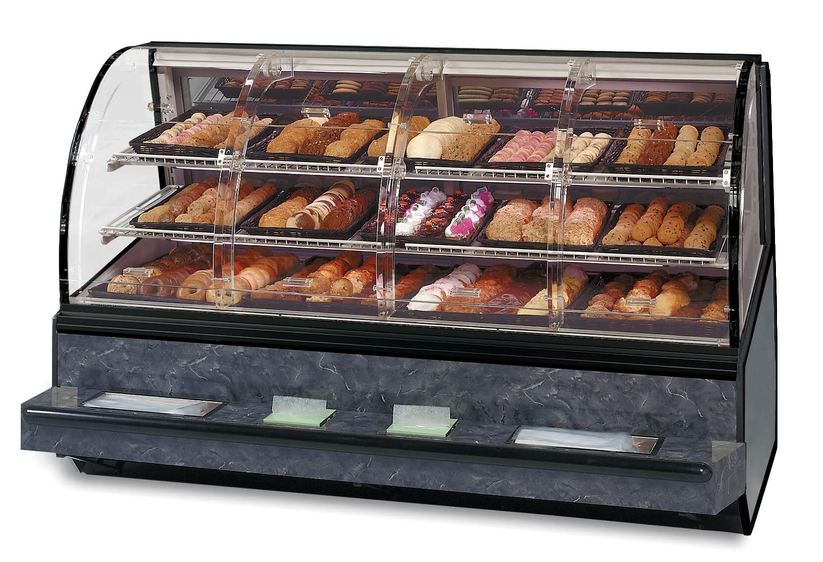 SN-48-SS Self-Serve Non-Refrigerated Bakery Case
