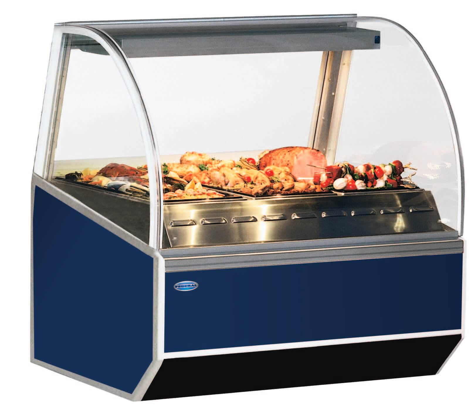 SN-4HD Hot Deli Case