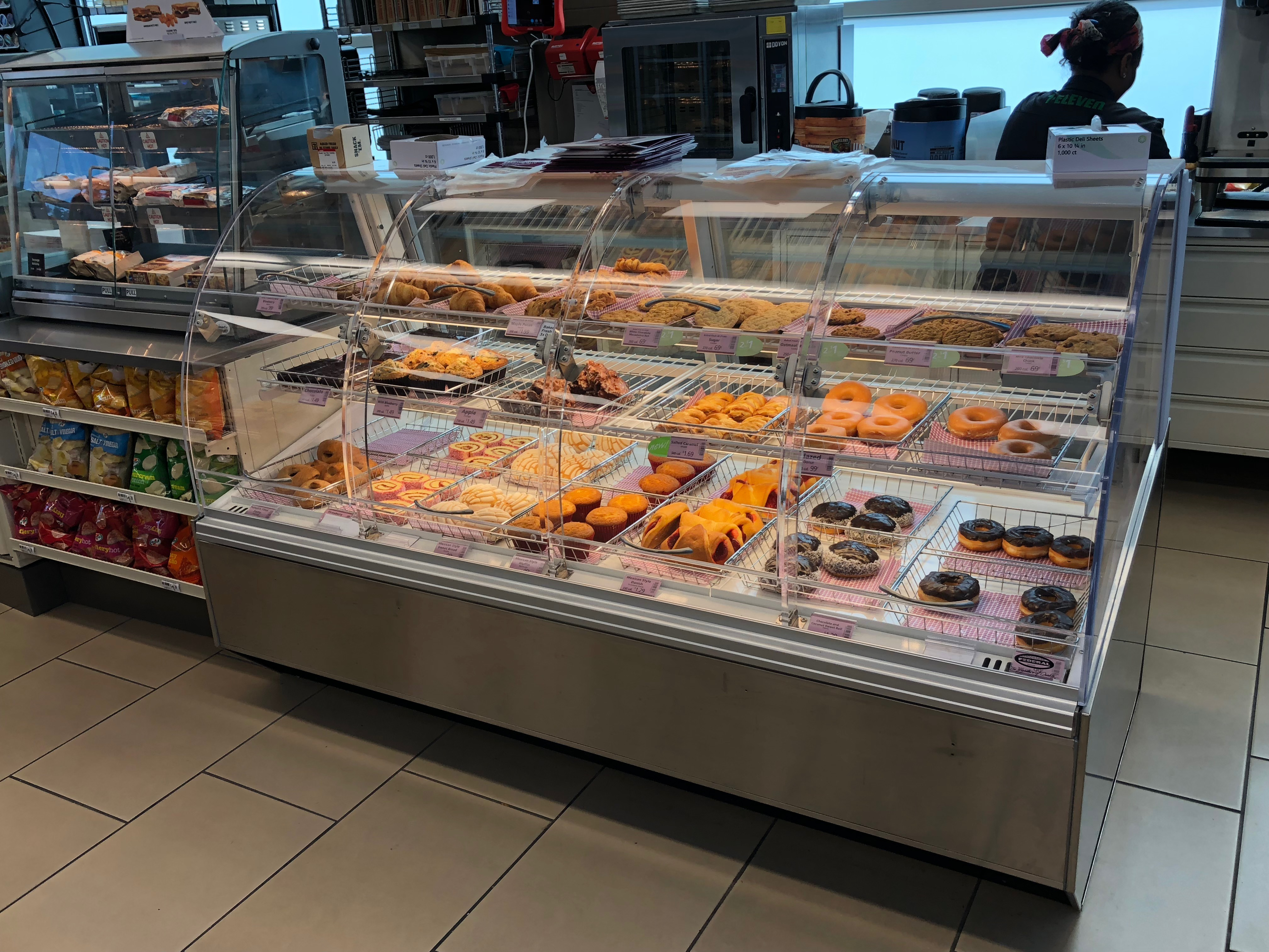 Convenience Store Bakery Case